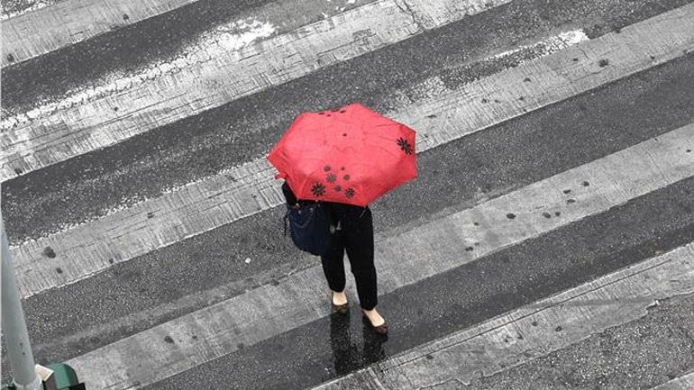 Ισχυρές βροχοπτώσεις στη Μαγνησία