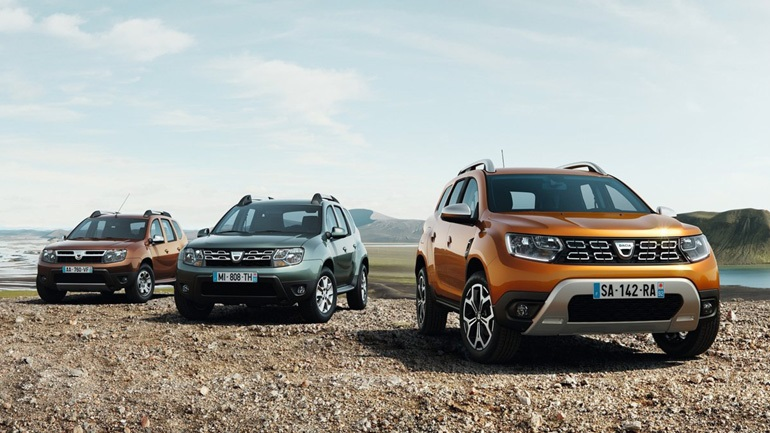 Πόσα αυτοκίνητα έχει πουλήσει η Dacia;