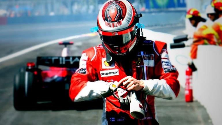 Tο δώρο της Ferrari στον Kimi Raikkonen
