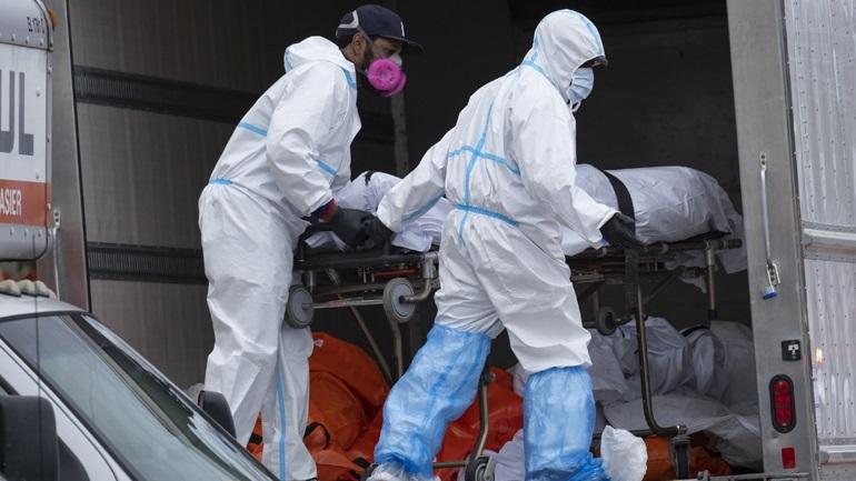 ΗΠΑ-Covid-19: Στους 1.225 οι νεκροί σε 24 ώρες