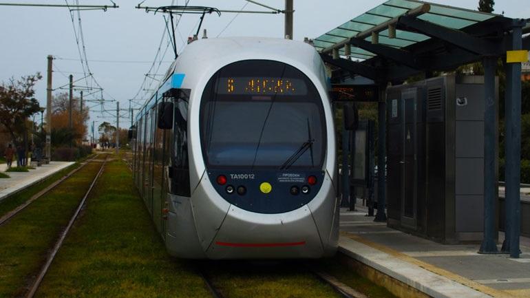 Διακοπή κυκλοφορίας του τραμ από τη στάση «Ζέφυρος» έως τη στάση «Μουσών» το Σάββατο