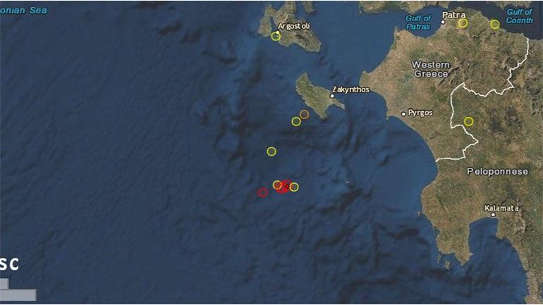 Σεισμός 4 Ρίχτερ στο Ιόνιο