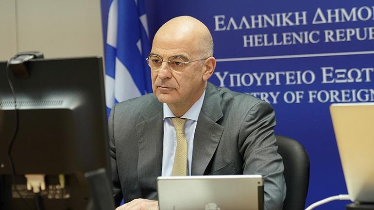 Επικοινωνία Ν. Δένδια με τον υπουργό Εξωτερικών της Ουκρανίας