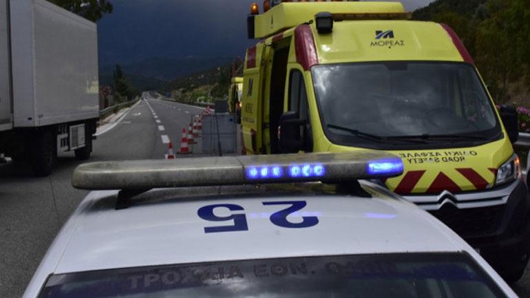 Βελεστίνο: Σύγκρουση φορτηγών στην Εθνική Οδό Αθηνών-Θεσσαλονίκης