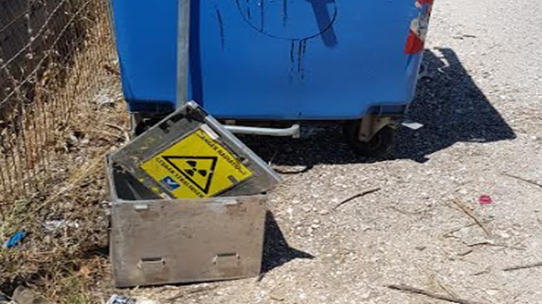 Χαλάνδρι: Ανησυχία για τον εντοπισμού περίεργου θωρακισμένου κουτιού σε κάδο απορριμμάτων