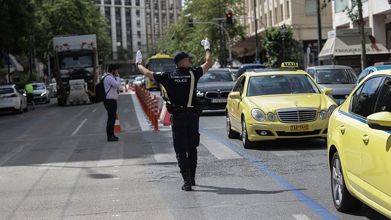 Αθήνα: Διακοπή κυκλοφορίας των οχημάτων λόγω θραύσης αγωγού ύδρευσης