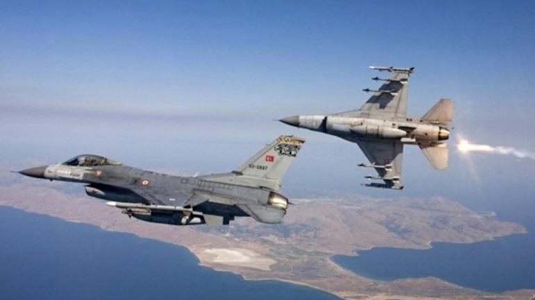 Τουρκικά αεροσκάφη πέταξαν πάνω από Παναγιά, Οινούσσες και Χίο
