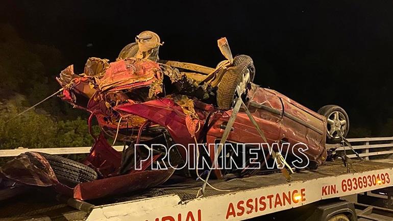 Σοβαρό τροχαίο στην Καβάλα με έναν νεκρό και οκτώ τραυματίες