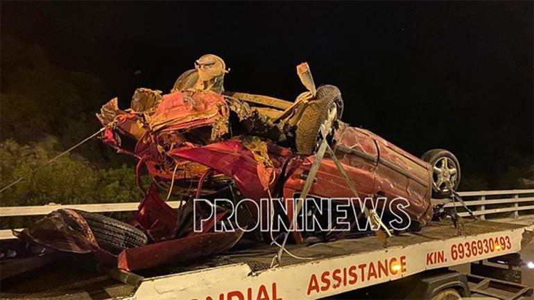 Τροχαίο δυστύχημα με μετανάστες στην Καβάλα