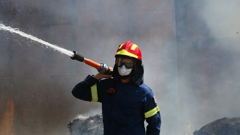 Κέρκυρα: Μεγάλη φωτιά στον ΧΥΤΑ Τεμπλονίου