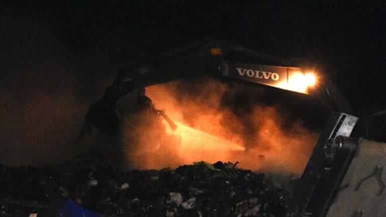 Υπό έλεγχο η φωτιά στον ΧΥΤΑ Τεμπλονίου στην Κέρκυρα