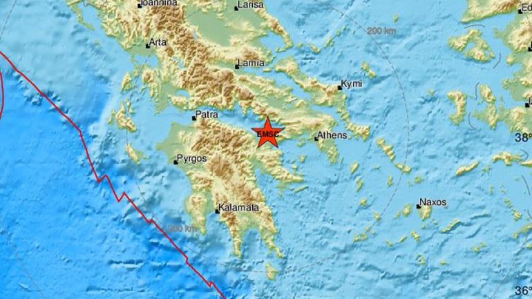 Σεισμός 3,7 Ρίχτερ στην Κόρινθο