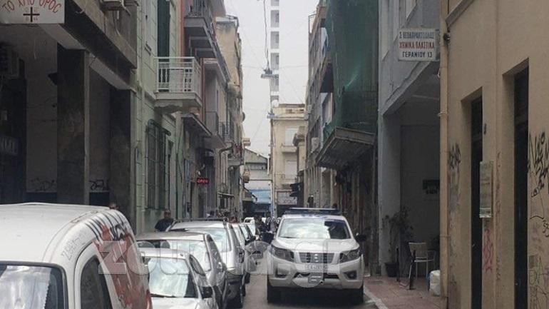 Επιχείρηση της ΕΛ.ΑΣ. σε εγκαταλελειμμένο κτίριοστην οδό Γερανίου