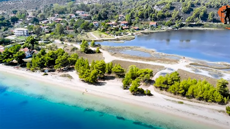 Φτερωτή Χαλκιδικής, ένας υπέροχος οικισμός μέσα στο πράσινο και το γαλάζιο