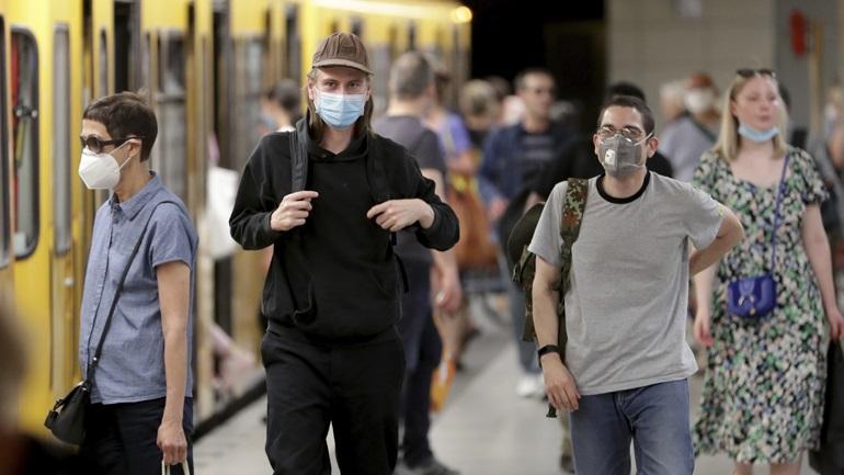 Γερμανία-Covid-19: 21 νέοι θάνατοι και 477 νέα κρούσματα