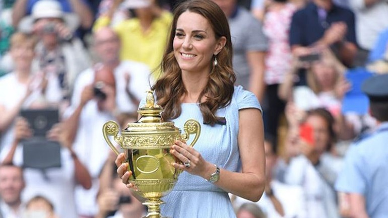 H Kate Middleton ανακοίνωσε την αναβολή του Wimbledon για φέτος