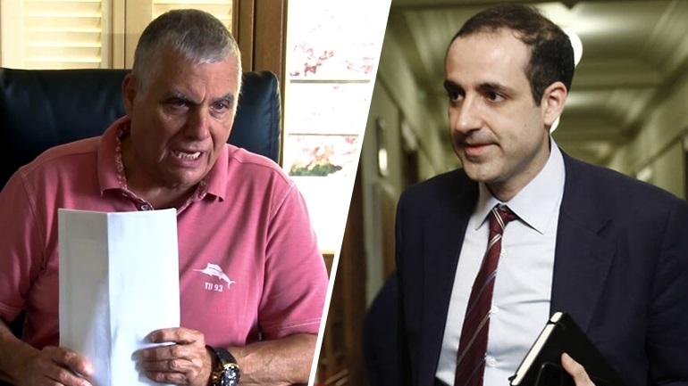 Εξώδικο στον Γιώργο Τράγκα έστειλε ο Γρηγόρης Δημητριάδης