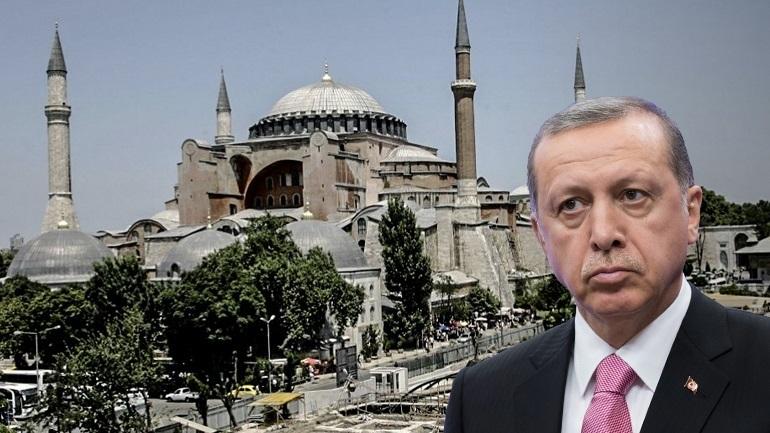 Ερντογάν εναντίον όλων για Αγία Σοφία: «Αυτό είναι επίθεση στην κυριαρχία της Τουρκίας»