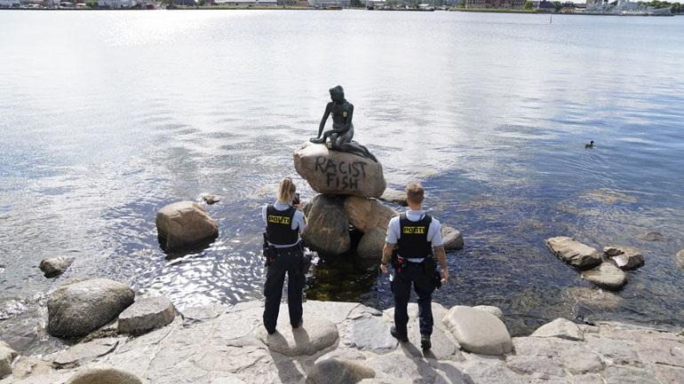 Δανία: «Ρατσιστικό ψάρι» η... Μικρή Γοργόνα της Κοπεγχάγης
