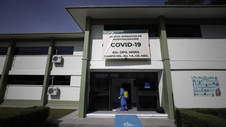 Μεξικό-Covid-19: 654 νέοι θάνατοι και 6.740 νέα κρούσματα
