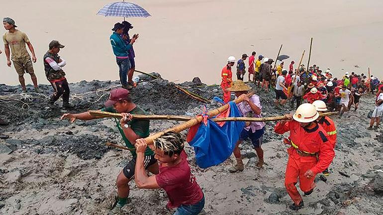 Μιανμάρ: Περισσότεροι από 170 νεκροί σε ορυχείο της Καχίν