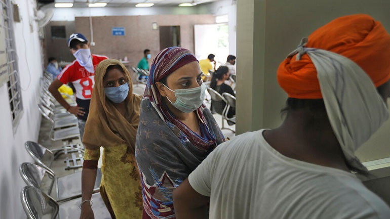 Ινδία: Περισσότερα από 22.000 νέα κρούσματα