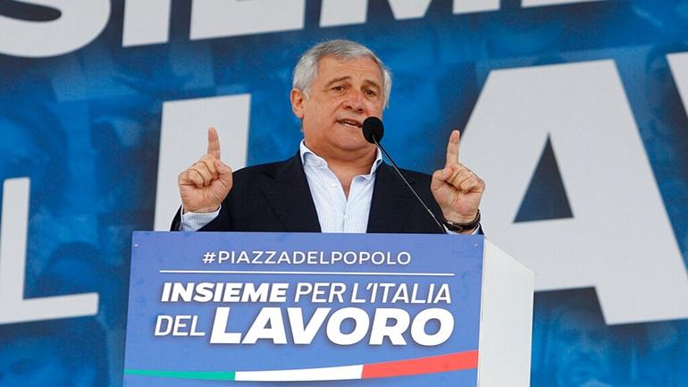 Ιταλία: Συγκέντρωση της κεντροδεξιάς στην Ρώμη κατά της κυβέρνησης του Τζουζέπε Κόντε