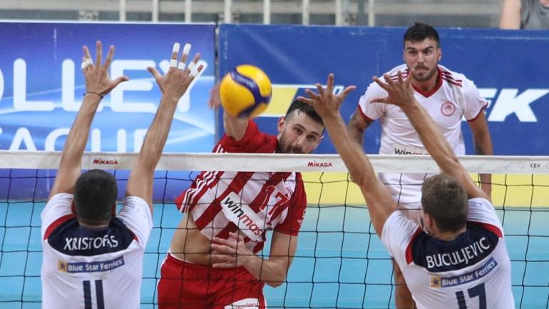 Volley League: Στους τελικούς ο Ολυμπιακός, 3-0 τον Φοίνικα