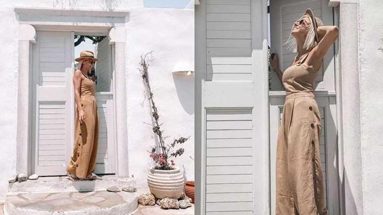 Χριστίνα Κοντοβά: Εντυπωσιακές φωτογραφίες από τις διακοπές της στην Πάρο!