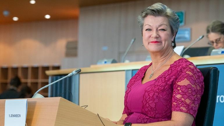Γιόχανσον: Τον Σεπτέμβριο πιθανότατα η παρουσίαση της πρότασης για το νέο Σύμφωνο για τη Μετανάστευση και το Άσυλο