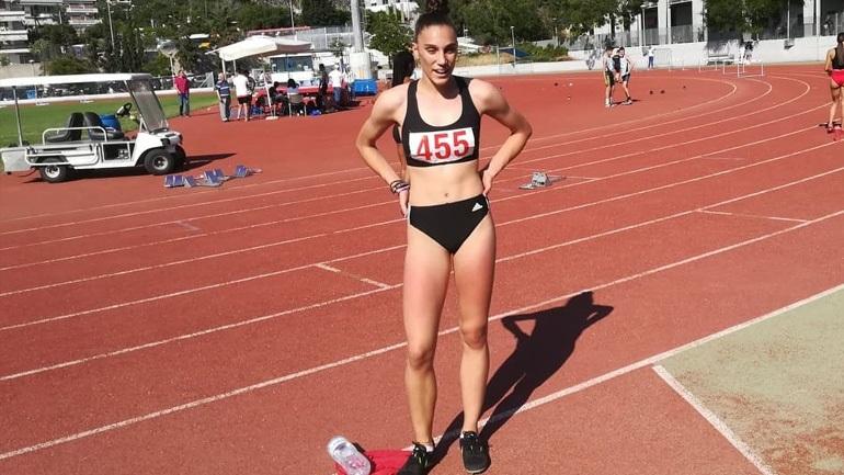 Στίβος: Νικήτρια η Χατζηπουργάνη στα 400 μ. εμπόδια K18 στον όμιλο της Κατερίνης