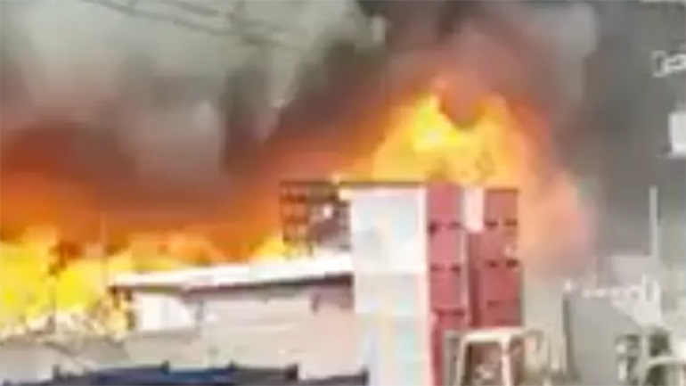 Οι Ιρανοί βλέπουν «σαμποτάζ» πίσω από πυρκαγιά σε πυρηνικό τους εργοστάσιο