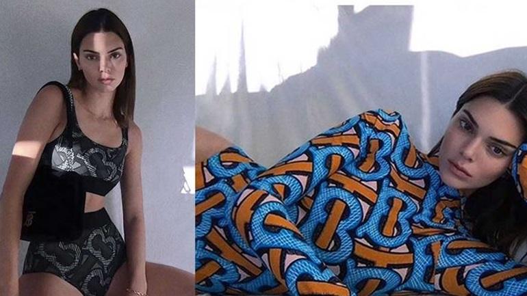 H DIY φωτογράφιση της Kendall Jenner για τη νέα καμπάνια του οίκου Burberry