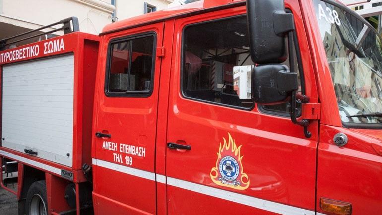 Υπό μερικό έλεγχο πυρκαγιά σε δασική έκταση στον Άγιο Στέφανο Αττικής