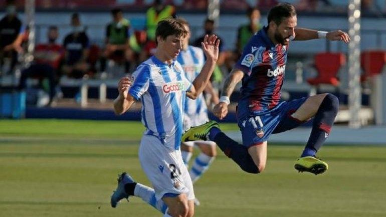 Ισπανία: Διατηρεί το προβάδισμα για την 7η θέση η Σοσιεδάδ, 1-1 με τη Λεβάντε