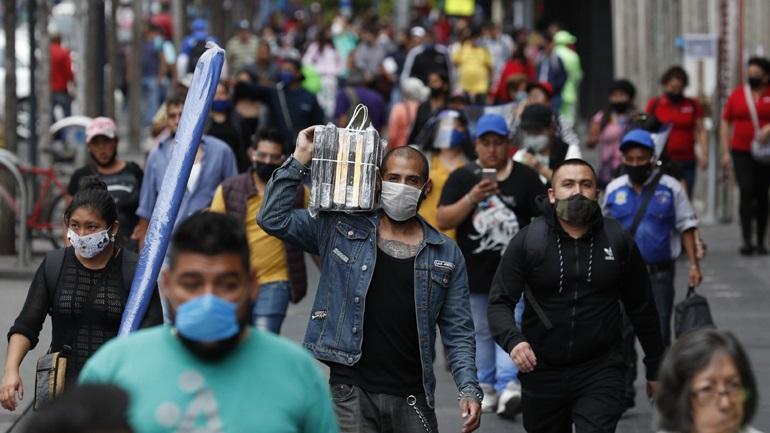 Μεξικό-Covid-19: 895 νέοι θάνατοι και 6.258 νέα κρούσματα