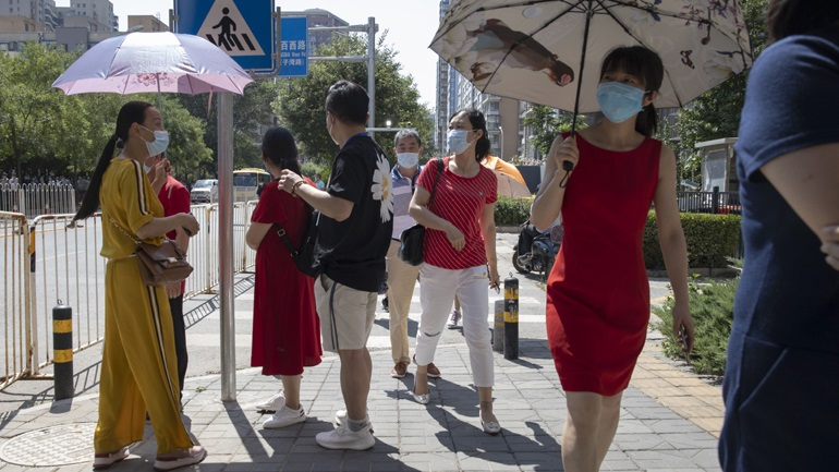 Covid-19: Επτά νέα κρούσματα στην Κίνα