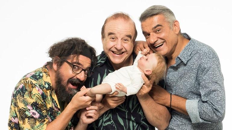 Το έργο «Ένα μωρό για 3» ξεκινάει περιοδεία με Π. Χαϊκάλη, Κ. Αποστολάκη και Γ. Δρακόπουλο