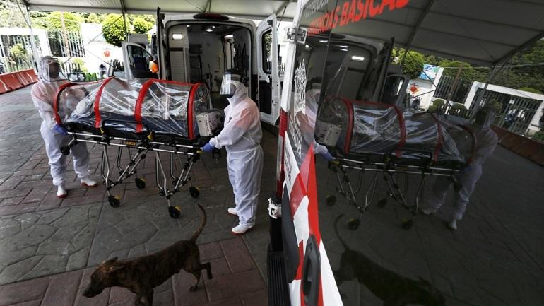 Μεξικό-Covid-19: 782 νέοι θάνατοι και 6.995 νέα κρούσματα
