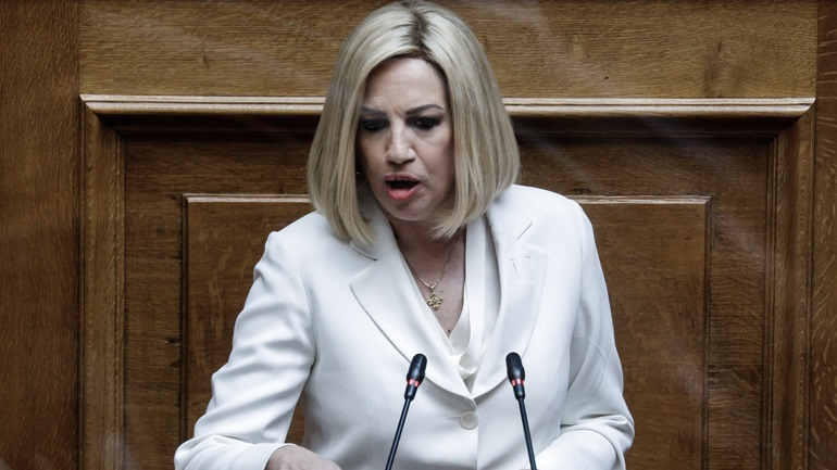 Οργή Γεννηματά για την αποχή Παπανδρέου - Καστανίδη από την ψηφοφορία για τις συναθροίσεις