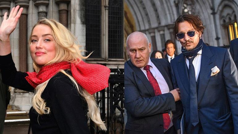 Δείτε το βίντεο με το οποίο η Amber Heard κατηγορεί τον Johnny Depp για βιαιότητα!