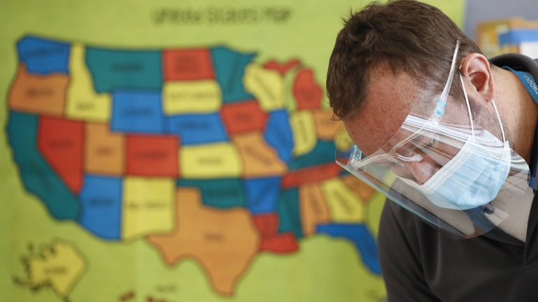 Covid-19: 774 νέοι θάνατοι το τελευταίο 24ωρο στις ΗΠΑ