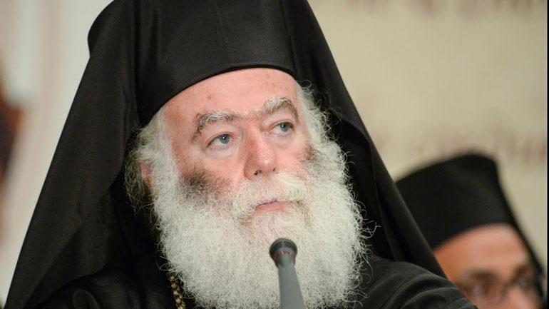 Πατριάρχης Αλεξανδρείας Θεόδωρος: «Η Τουρκία προσθέτει ένα μεγάλο αγκάθι στην ειρηνική συνύπαρξη των λαών»