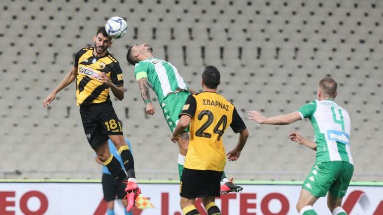 Παναθηναϊκός-ΑΕΚ 0-0 (Πρώτο ημίχρονο)