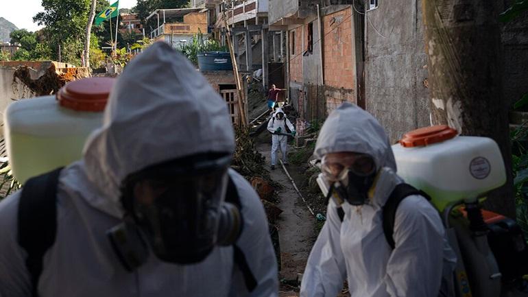 Βραζιλία: 641 θάνατοι - Σχεδόν 25.000 κρούσματα σε 24 ώρες
