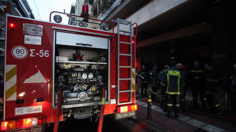Σε εξέλιξη πυρκαγιά σε διαμέρισμα στις Συκιές Θεσσαλονίκης