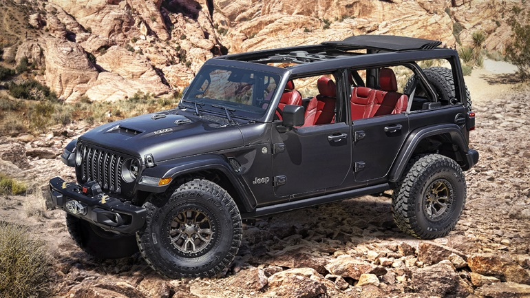 450 ίπποι και 0-100 σε 5 δευτερόλεπτα για το Jeep Wrangler