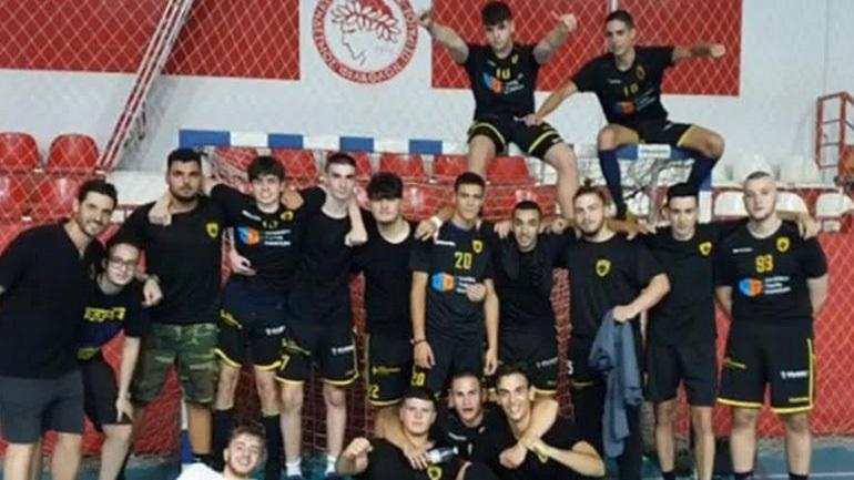 Χάντμπολ: «Αγγίζει» το πρωτάθλημα η ομάδα Νέων της ΑΕΚ