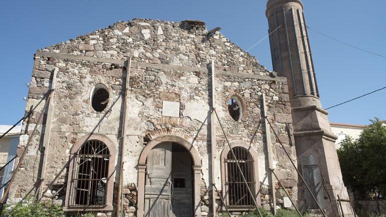 Διακοπή χρηματοδότησης του έργου αποκατάστασης του Βαλιδέ τζαμί ζήτησε ο Περιφερειάρχης Β. Αιγαίου