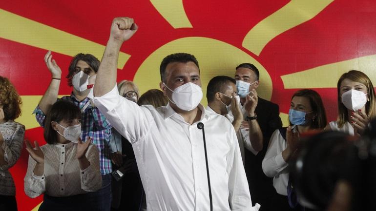 Βόρεια Μακεδονία: Νικητής των βουλευτικών εκλογών ο Ζόραν Ζάεφ